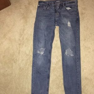 Old Navy Slim Fit Ripped Jeans